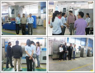 Customers' Visit ASLi Factory