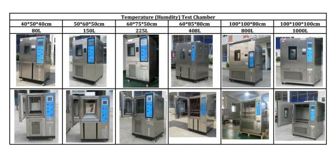 Customized Inner Programmable Humidity Temperature Test Chamber Air Cooling