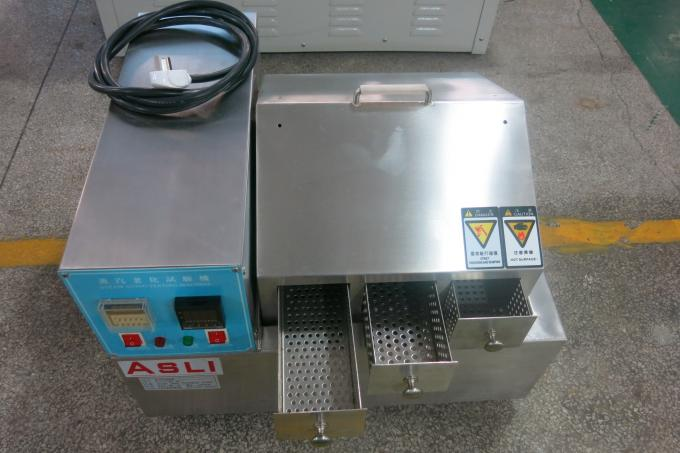 Microcomputer controller Steam Aging Test Chamber with 3 layer drawer OEM accepted
