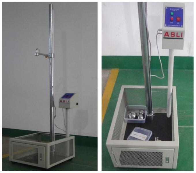 Electronic ball impact tester 500×2110×500mm Dimension W×H×D