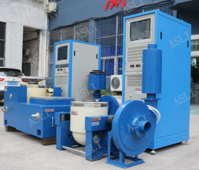 Electromagnetic vibration testing machine 350000N Max Sine force 3 - 3500 HZ