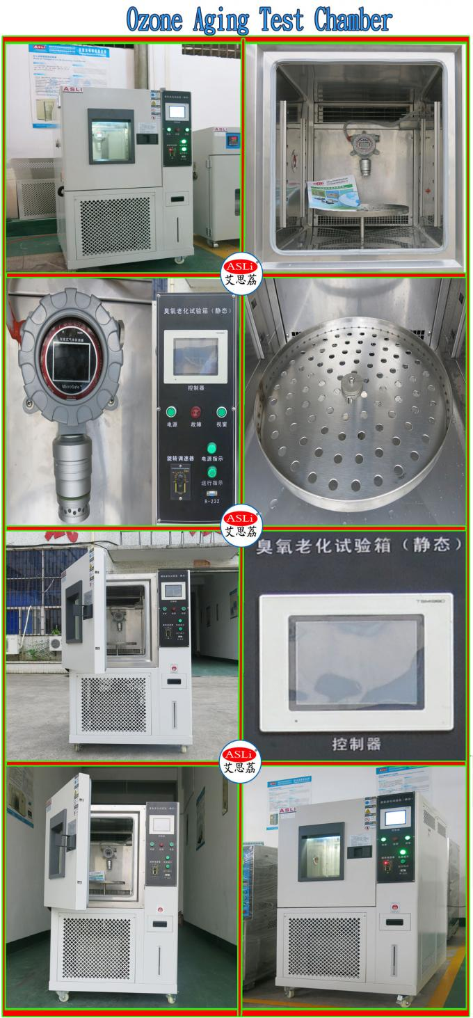 Ozone Aging Test Chamber For Rubber And Cables Industry
