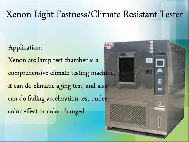 Xenon Light Fastness Environmental Test Chamber , Resistant Climate Tester