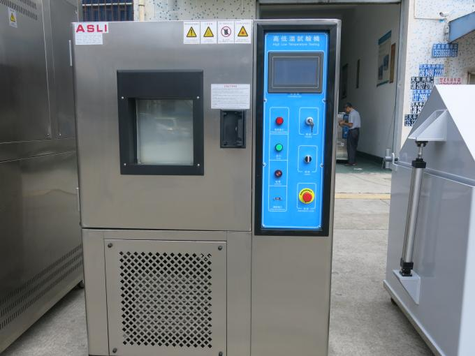 Touch Programmable High-Low Temperature Humidity Chamber , Heating Aging Oven Test Equipment