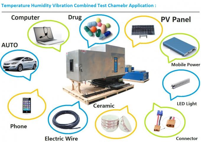 OEM Environmental Shaker , Temperature Humidity Vibration Test Machine