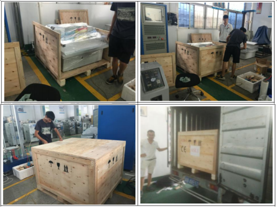 Package Transportation Simulation Vibration Test Equipment for Test Battery