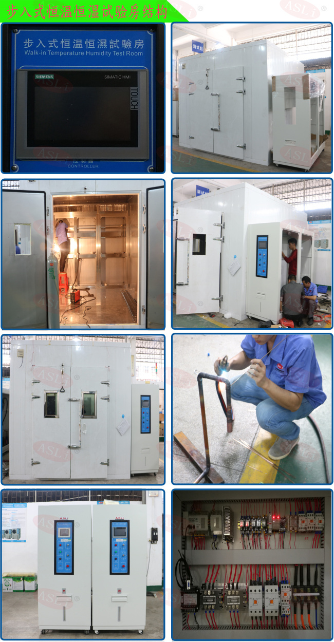 20% - 98% Rh Walk In Climatic Stability Chamber Electronic For Auto Spare Parts