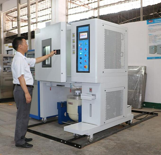 High precision Temperature Humidity & Vibration combined test chamber/ three integrated Climatic chamber