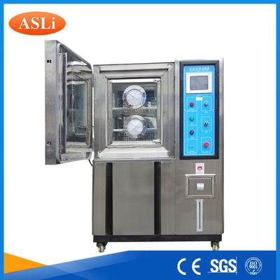 China Customized Inner Programmable Humidity Temperature Test Chamber Air Cooling supplier