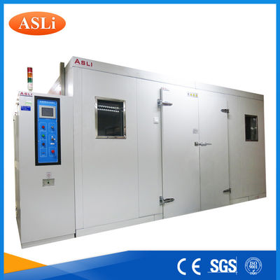 China Touch Screen Programmable Walk In Stability Chamber 3rd Party Calibrated SGS Stainless Steel supplier