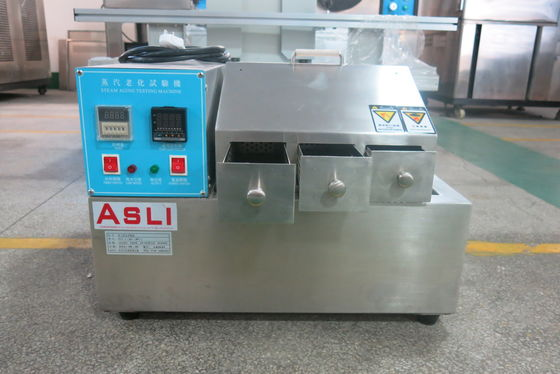 China Microcomputer controller Steam Aging Test Chamber with 3 layer drawer OEM accepted supplier
