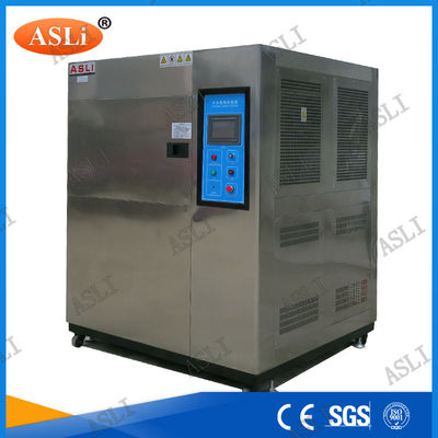 China Automotive Simulation Thermal Shock Chamber , Environmental Hot Cold Testing Thermal Shock Chamber supplier