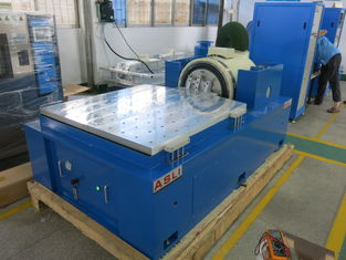 China Electromagnetic Horizontal X / Y Axle vibration Test System 20 Kn Exiting Force supplier