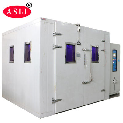 China Sunshine Simulation Uv / Xenon Aging Room Walk In Stability Chamber For Color Fastness Test supplier
