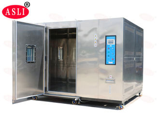 China 20% - 98% Rh Walk In Climatic Stability Chamber Electronic For Auto Spare Parts supplier
