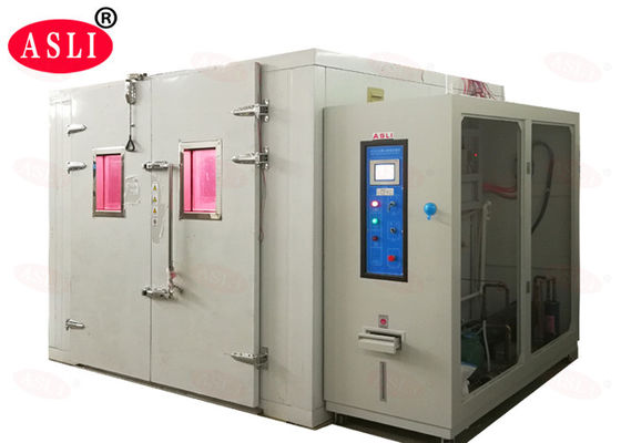 China Simulate UV Xenon Lamp Temperature Combined Accelerated Weathering Test Machine Walk In Room supplier