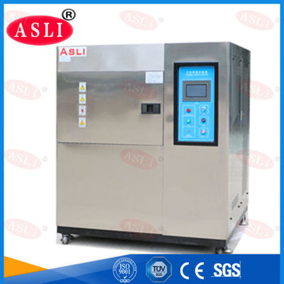 China 2 Zone Thermal Shock Test Chmaber With High Low Temperature supplier