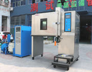 China Vibration testing machine combined temperature chamber with vibration shaker table company