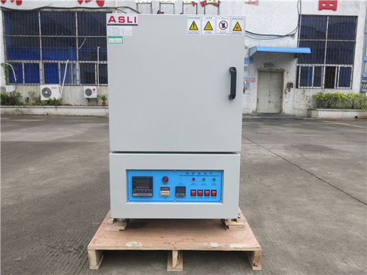 China High Temp Furnace , High Temperature Ovens Powder Poated 1200 Deg C factory