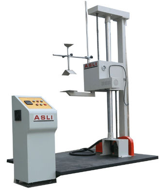 Single Wing Carton Drop Testing Machine / Package Carton Box Drop Impact Tester