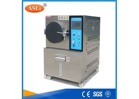 China HAST Pressure Accelerated Aging Test Chamber 450 * 550mm Internal Dimension factory