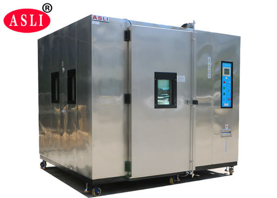 Stainless Steel Walk In Stability Chamber , Environmental Test Chamber