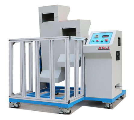 Mobile Phone Drop Testing Machine , Two Zones Lab Drop Test Equipment