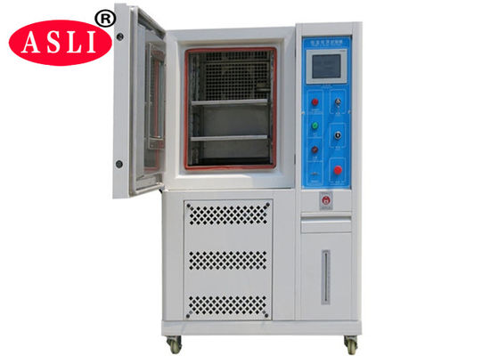 High Low Temperature Humidity Chamber Stainless Steel Indication Resolution 0.1 °c