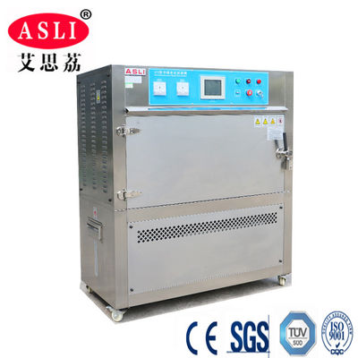 China 290 Liters Anti - Yellow UV Aging Test Chamber , Uv Weathering Test Chamber factory