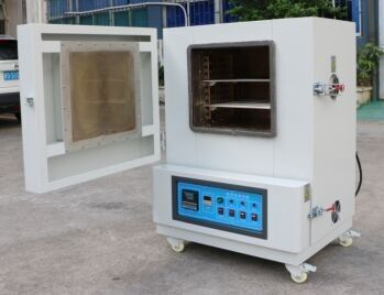 China Digital High Temperature Ovens Vacuum Degassing Chamber Oven CE Certificate factory