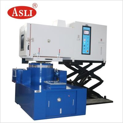 China AC 380V Mechanical Shock Test Machine Vibration Testing System Combined With Temperature And Humidity factory