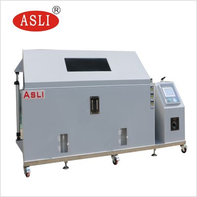 China Salt Mist Corrosion Test Chamber / Salt Spray Test Equipment For Zinc Plating factory