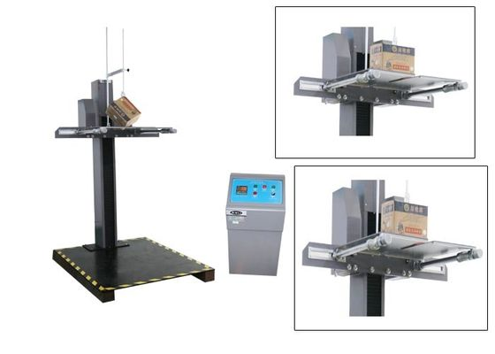 China Two Wing / Armed Free Falling Drop Testing Machine For Package Strenght Test factory