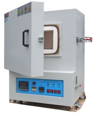 China 1300 Degree Celsius High Temperature Lab Box Muffle Furnace , High Temperature Laboratory Oven factory
