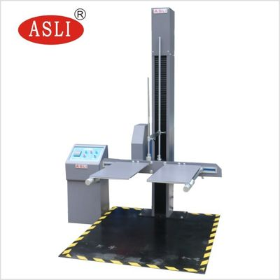 China AC 380V Lab Test Equipment / Double Arm Carton Box Drop Test Machine factory